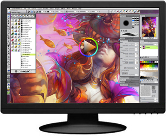 Corel painter 12 Computer art software